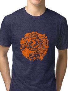 A whole new world - Orange Tri-blend T-Shirt