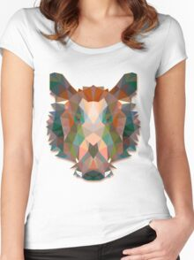 Boar Animals Gift Women's Fitted Scoop T-Shirt