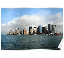 New York - Hudson River View Poster