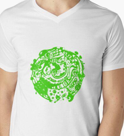 A whole new world - Green Mens V-Neck T-Shirt
