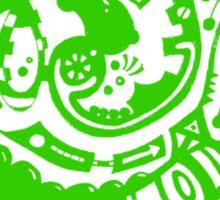 A whole new world - Green Sticker