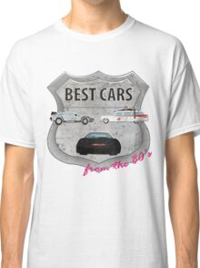 Best cars form the 80's Classic T-Shirt