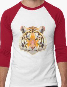 Tiger Animals Gift Men's Baseball ¾ T-Shirt