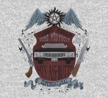 Supernatural retro crest by koroa