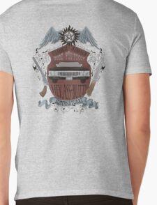 Supernatural retro crest Mens V-Neck T-Shirt
