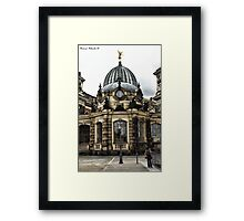 Series: Dresden, Saxony Framed Print