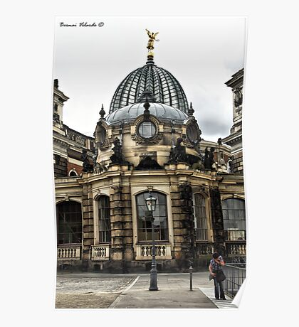 Series: Dresden, Saxony Poster