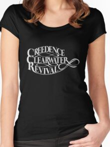 Creedence clearwater revival Women's Fitted Scoop T-Shirt