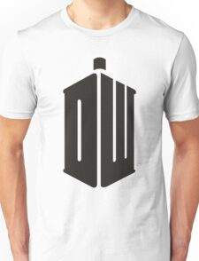 Doctor Who Logo Typography Unisex T-Shirt