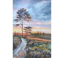 Sunset   by Mary Faux Jackson Photographic Print