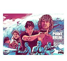 Point Break 2015 great pic Photographic Print