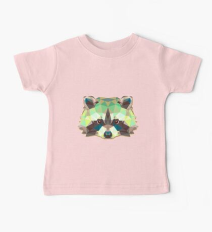Raccoon Animals Gift Baby Tee