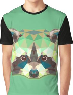 Raccoon Animals Gift Graphic T-Shirt