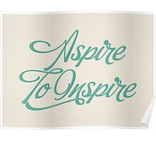 Aspire to Inspire Poster