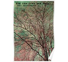 And the tree was happy Poster