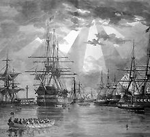 Civil War Ships by warishellstore