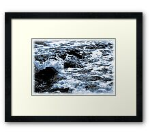 The Song of Rocks and the Sea Framed Print
