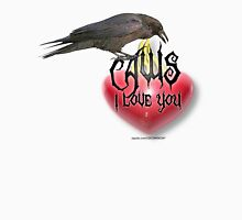 caws i love you Womens Fitted T-Shirt