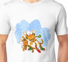 Figure skating tigers Unisex T-Shirt
