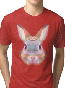 Rabbit Hare Animals Gift Tri-blend T-Shirt