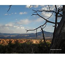 Pedernal in Northern New Mexico Photographic Print