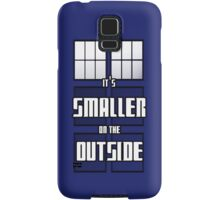 It's Smaller on the Outside Samsung Galaxy Case/Skin