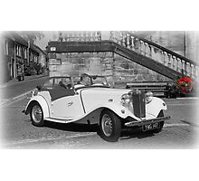 MG Sports Car Photographic Print