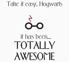 Totally awesome, Hogwarts. Kids Clothes