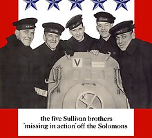 The Sullivan Brothers They Did Their Part by warishellstore