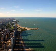 Tilt Shift Chicago by Noah Browning