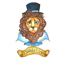 Dandy Lion Photographic Print