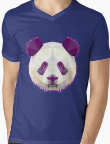 Panda Bear Animals Gift Mens V-Neck T-Shirt