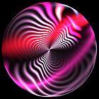 Trippy Neon Orb by Kazytc