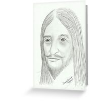Cavalier - Spirit Guide Pencil Portrait Greeting Card