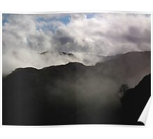 Misty Mountains.  Poster