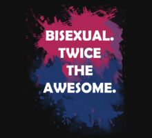 Bisexual Pride - Twice The Awesome! by KindOfAwesome