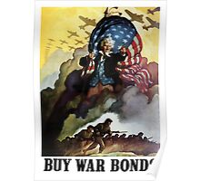 Uncle Sam Buy War Bonds Poster