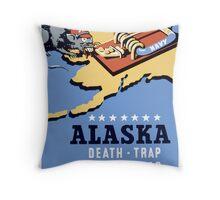 Alaska Death Trap For The Jap Throw Pillow