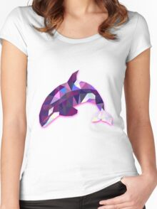 Orca Animals Gift Women's Fitted Scoop T-Shirt
