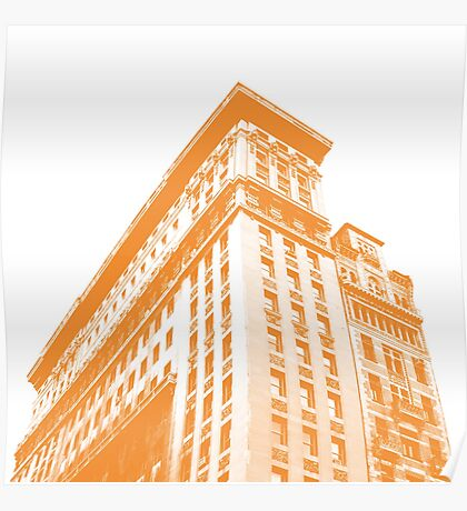 Building in Union Square Poster