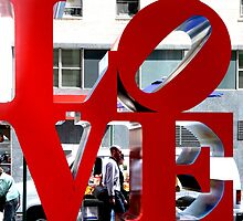 LOVE Sculpture by Robert Indiana by Koon