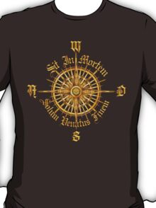 """PC Gamer's Compass - """"Death is Only the End of the Game"""" T-Shirt"""