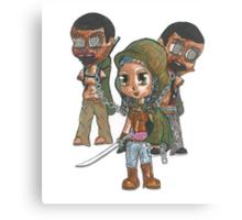 Zombie Samurai Canvas Print