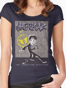 NOODLE BOY SHIRT!!!!!!!!!!!! ft. Sherlock Women's Fitted Scoop T-Shirt