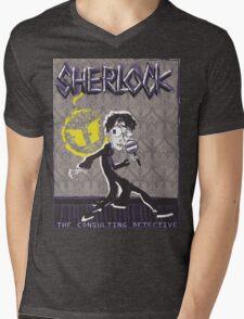 NOODLE BOY SHIRT!!!!!!!!!!!! ft. Sherlock Mens V-Neck T-Shirt