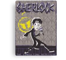 NOODLE BOY SHIRT!!!!!!!!!!!! ft. Sherlock Canvas Print