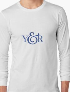 Young and Rubicam Retro Logo Long Sleeve T-Shirt