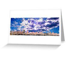 San Francisco Skyline (digital) Greeting Card