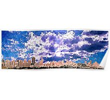 San Francisco Skyline (digital) Poster
