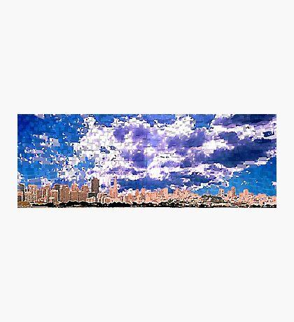 San Francisco Skyline (digital) Photographic Print